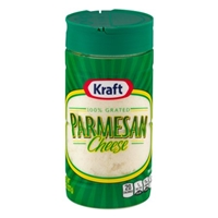 Kraft Parmesan Cheese Grated Food Product Image