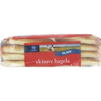 Kroger Plain Skinny Bagels Food Product Image