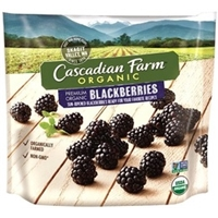 Cascadian Farm Organic Blackberries Food Product Image