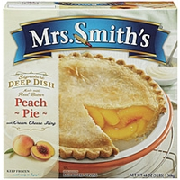 Mrs. Smith's Signature Deep Dish Peach Pie Food Product Image