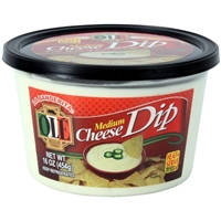 Ole Medium Hot Cheese Dip Food Product Image