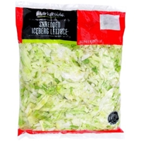 Marketside Shredded Iceberg Lettuce, 16 oz Food Product Image
