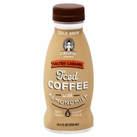 Califia Farms Salted Caramel Cold Brew Coffee With Almond Milk Food Product Image