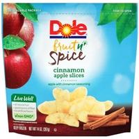 Dole Apple Slices Cinnamon Food Product Image