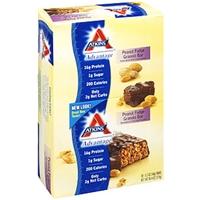 Atkins Advantage Granola Bars Peanut Fudge 12 Ct Food Product Image