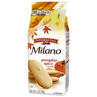 Pepperidge Farm Milano Pumpkin Spice Cookies Food Product Image