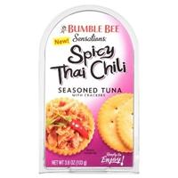 Bumble Bee Sensations Tuna Salad Kit Spicy Thai Chili 3.6 oz Food Product Image