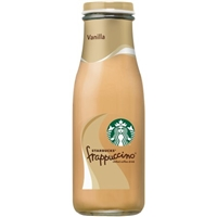 Starbucks Frappuccino Chilled Coffee Drink Vanilla Food Product Image