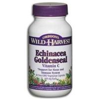 Oregon's Wild Harvest Echinacea Goldenseal Vitamin C Food Product Image