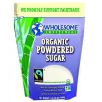 Wholesome Sweeteners Organic Powdered Sugar Food Product Image