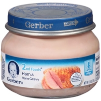 Gerber 2Nd Foods Ham & Ham Gravy Food Product Image