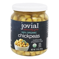 Jovial  Organic Chickpeas Food Product Image