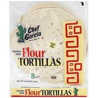 Chef Garcia Flour Tortillas Burrito Style Food Product Image