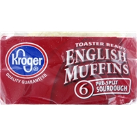 Kroger English Muffins Food Product Image