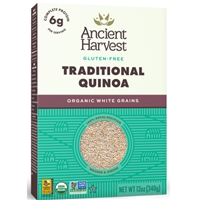 Ancient Harvest Quinoa Gluten-Free White Grains Traditional Food Product Image