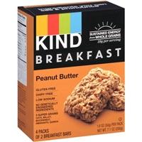 Kind Breakfast Bars Peanut Butter - 4 CT Food Product Image