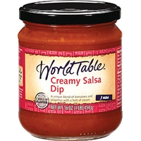 World Table Dip Creamy Salsa Mild Food Product Image