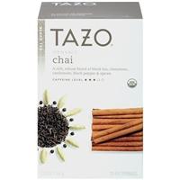 Tazo Spiced Black Tea Filterbags Organic Chai - 20 CT Food Product Image