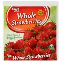 Great Value Strawberries Whole Food Product Image