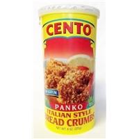 Cento Panko Italian Style Bread Crumbs Food Product Image