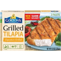 Gorton's Grilled Tilapia Signature Grilled Fillets - 2 CT Food Product Image