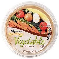 Wegmans Mediterranean Food Vegetable Hummus Food Product Image