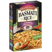Heritage Select Basmati Rice Jambalaya With Orzo Pasta Food Product Image