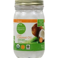 Simple Truth Organic Coconut Oil Food Product Image