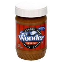 Soy Wonder Soy Nut Butter Crunchy, Peanut-Free Food Product Image