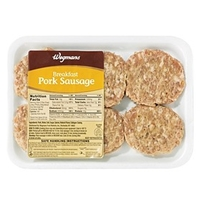 Wegmans Hot Dogs & Sausages Breakfast Pork Sausage Patties Food Product Image