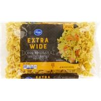 Kroger Extra Wide Egg Noodles Food Product Image
