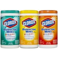 Clorox Fresh Lemon Disinfectant Wipes Food Product Image