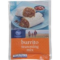Kroger Burrito Seasoning Mix Food Product Image