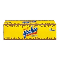 Yoo-hoo Chocolate Drink 12 PK Cans Food Product Image