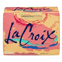 La Croix Sparkling Water Grapefruit - 12 CT Food Product Image