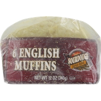 Kroger Sourdough English Muffins Food Product Image