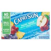 Capri Sun Fruit Flavored Juice Drink Pouches Pacific Cooler ...