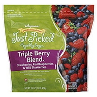 Wegmans Triple Berry Blend Food Product Image