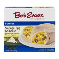 Bob Evans Burritos Sausage, Egg & Cheese - 6 CT Food Product Image