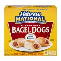 Hebrew National Kosher Beef Bagel Dogs Food Product Image