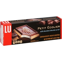 LU Petite Ecolier Milk Chocolate European Biscuits Food Product Image