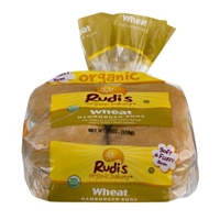 Rudi's Organic Bakery Hamburger Buns Wheat - 8 CT Food Product Image