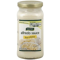 Spartan Alfredo Sauce Four Cheese Food Product Image