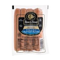 Boars Head Skinless Pork & Beef Frankfurters Food Product Image