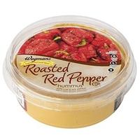 Wegmans Mediterranean Food Hummus, Roasted Red Pepper Food Product Image