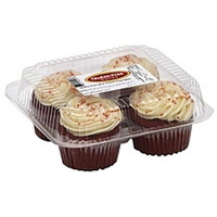 Gluten Free Nation Cupcakes Gluten Free Red Velvet Food Product Image