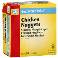 Guaranteed Value Chicken Nuggets Food Product Image