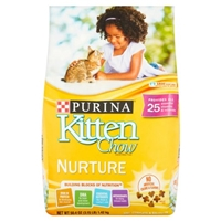 Purina Kitten Chow Nurture Food Product Image