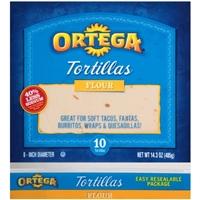 Ortega Soft Flour Tortillas Food Product Image