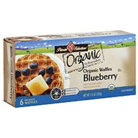 Private Selection Waffles Organic, Blueberry Food Product Image